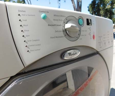 Front Load Whirlpool Duet Washer Appliance Recycler