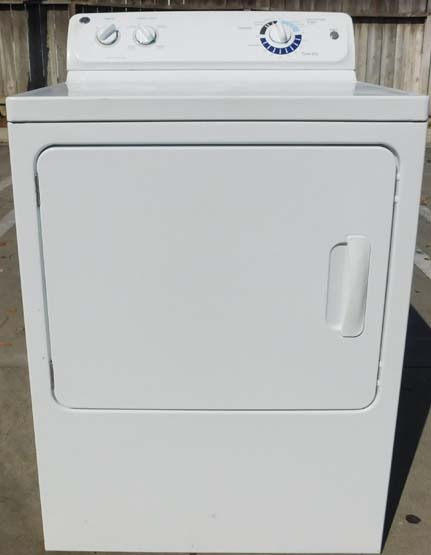 Dryer Ge King Size Capacity Electric Appliance Recycler