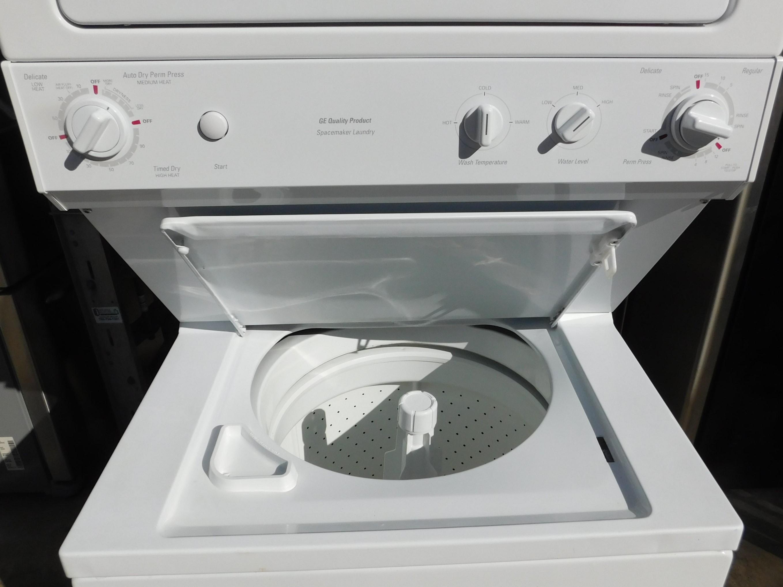Stack General Electric Washer Amp Dryer Full Size 220v